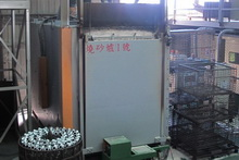 Casting cleaning furnace